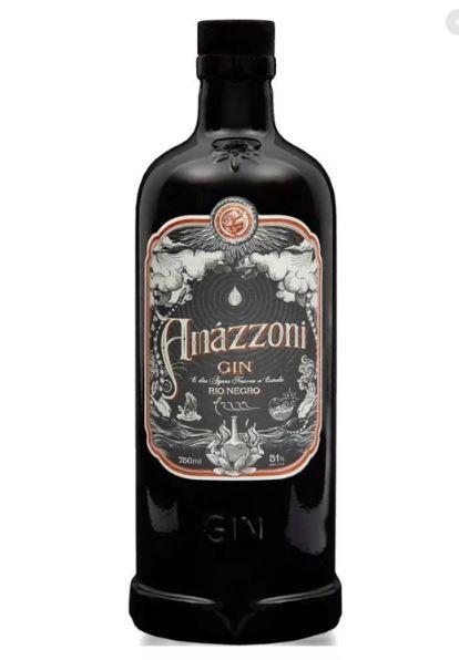 Gin Amazzoni Rio Negro 750ml