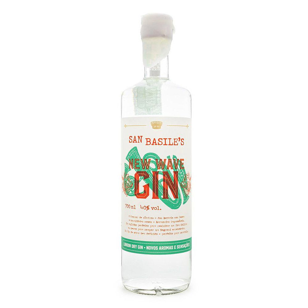 Gin New Wave London Dry San Basile 700ml