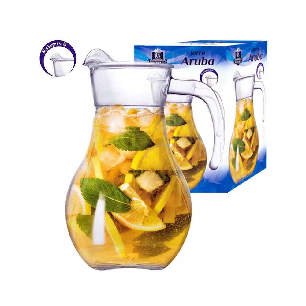 Jarra  De Vidro Aruba - 1,9 litros