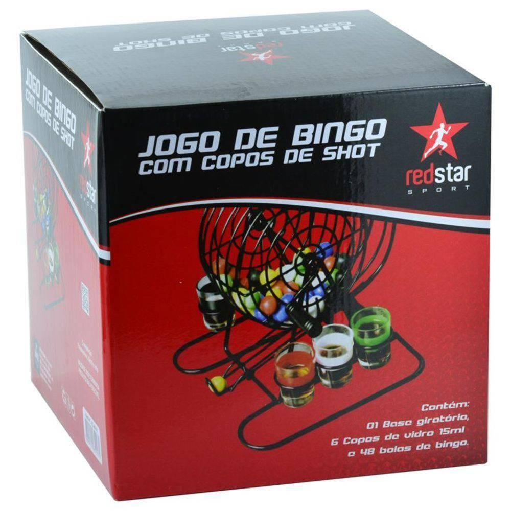 Jogo De Cassino Bingo Roleta Shot Drink Com 55 Pçs