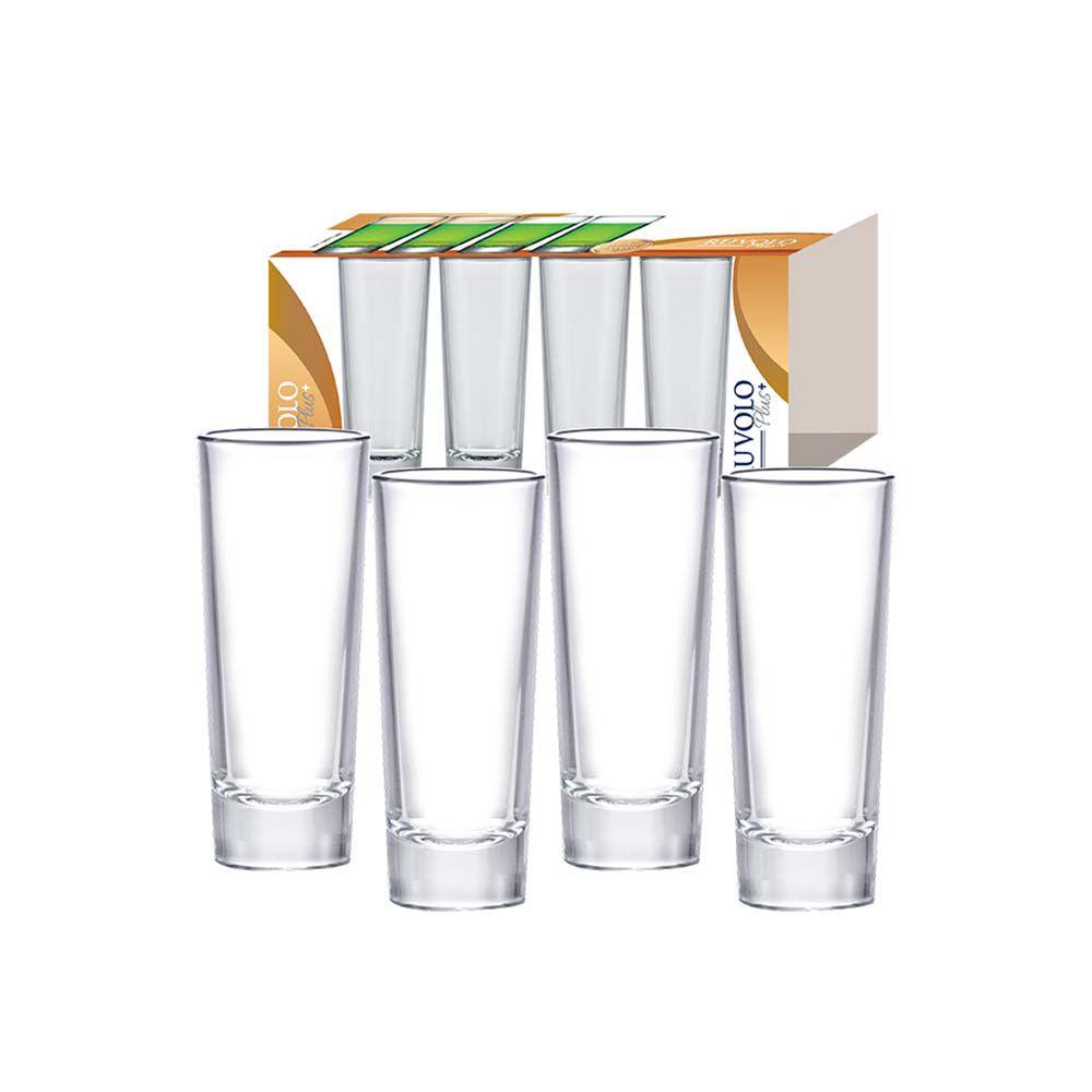 Jogo de Copo Shot para Vodka - 4Pçs.