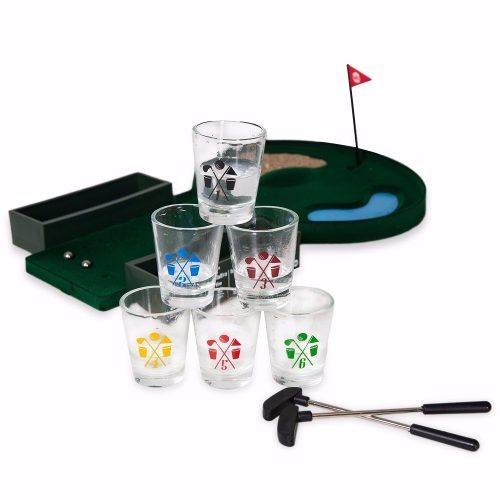 Jogo de Golf com Copos Pingolf