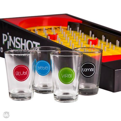 Jogo Pinshot com Copos