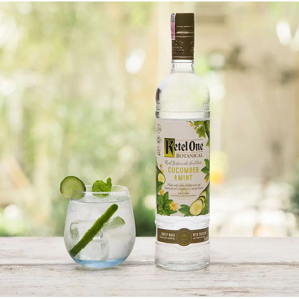 Ketel One Vodka  Cucumber E Mint 750ml