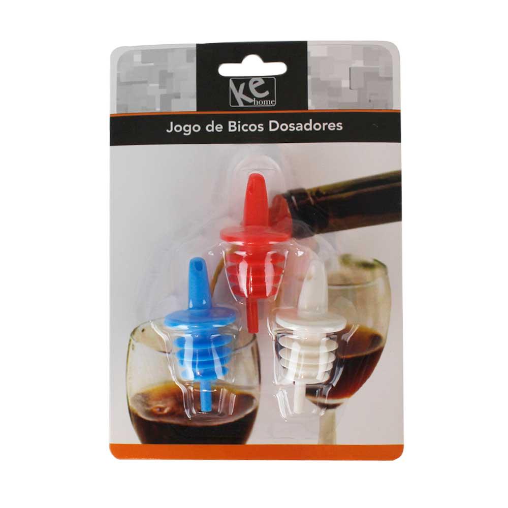 Kit Biqueiras Dosadoras 3Pçs - Ref. 6619
