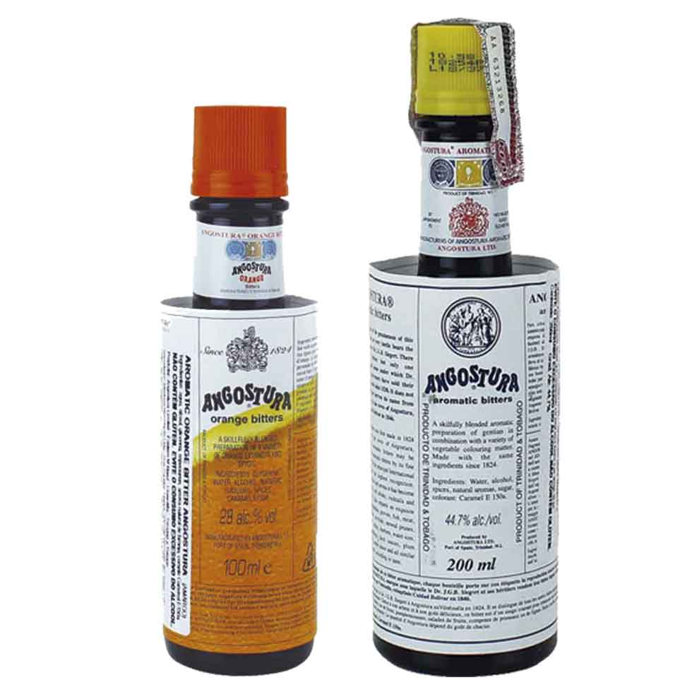 Kit Bitters Angostura Tradicional 200ml e Orange 100ml