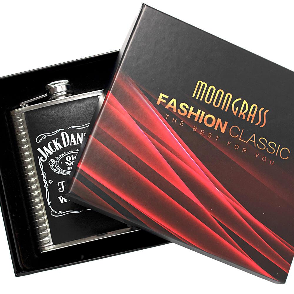 Kit Cantil Jack Daniel's Com 2 Mini Copos e 1 Funil