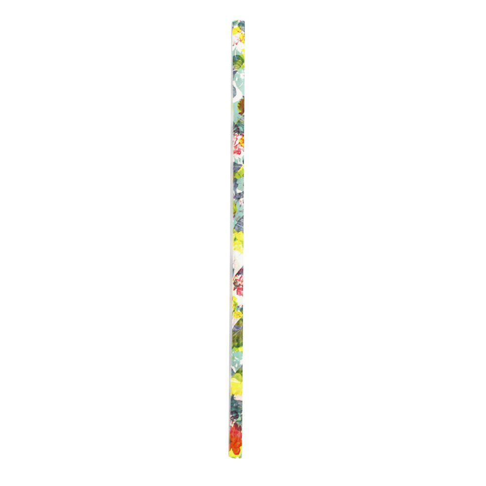 Kit com 60 Canudos de Papel Estampa Flores