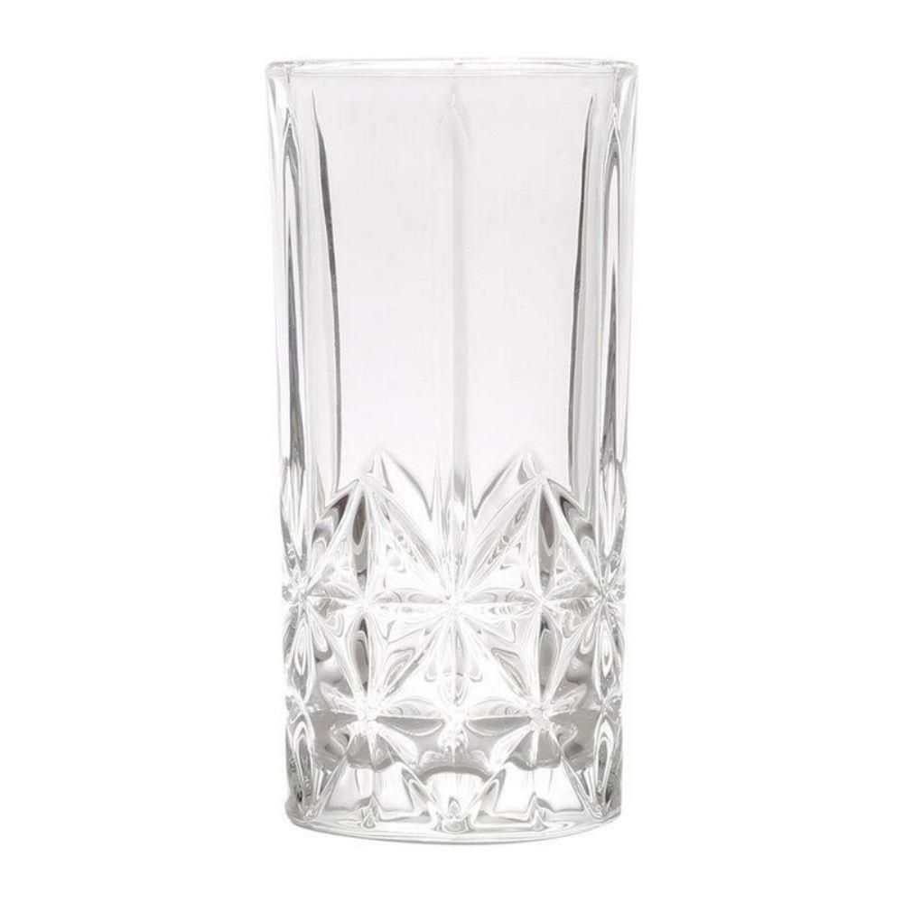 Kit com 6 Copos de Vidro para Drinks 380ml Stella