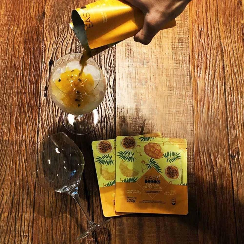 Kit G&T Gin + Frutas Tropicais + Espuma de Limão Siciliano + Tônicas