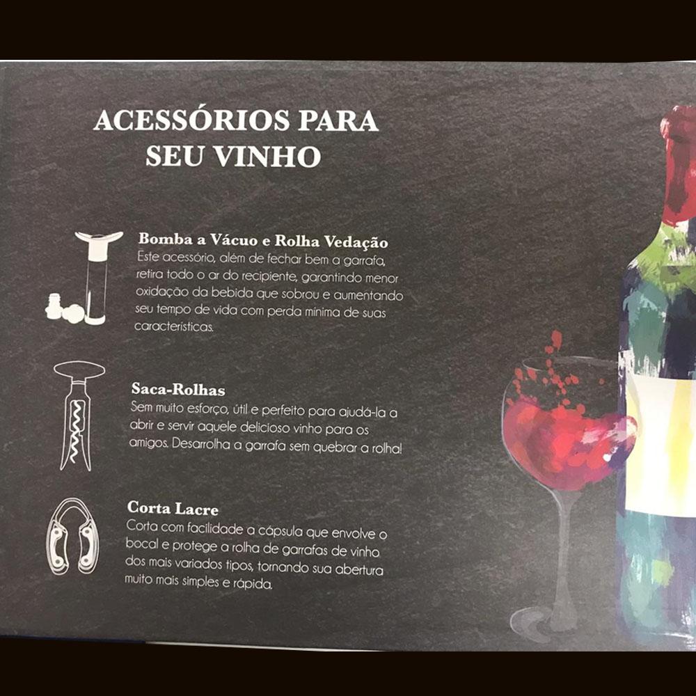 Kit Vinho Ferramenta Certa Com 5 Peças Bon Gourmet