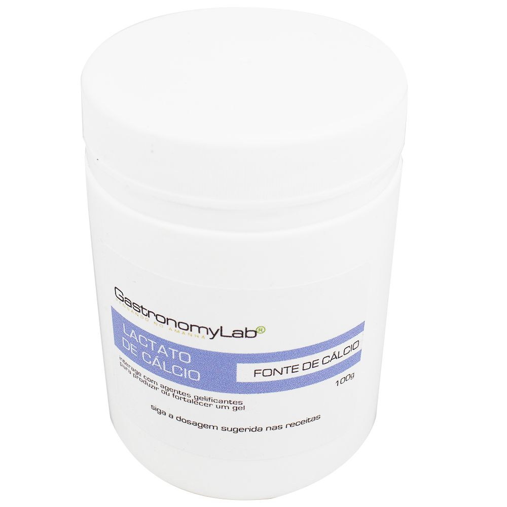 Lactato de Cálcio 100g