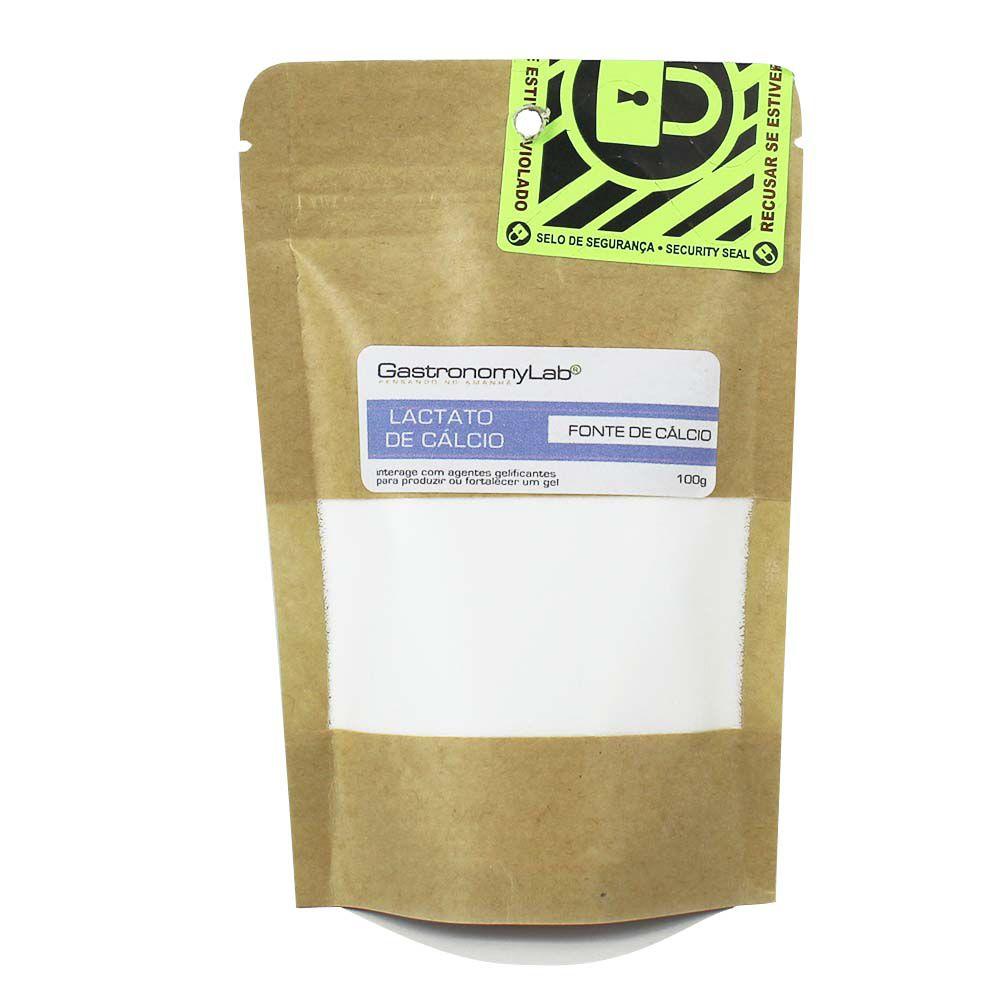 Lactato de Cálcio 100g - GastronomyLab