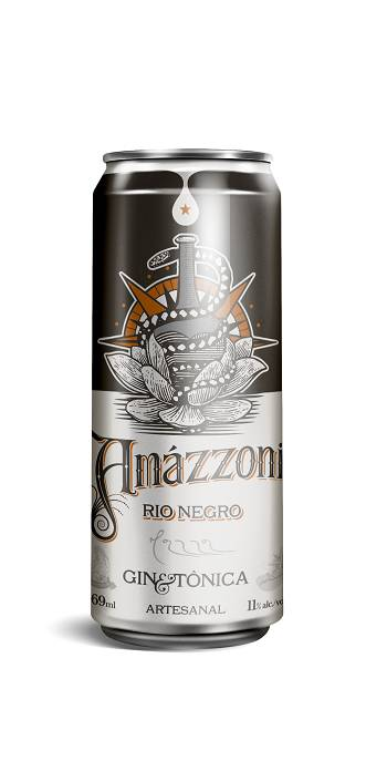 Lata Gin Tônica Amazzoni Rio Negro 269ml