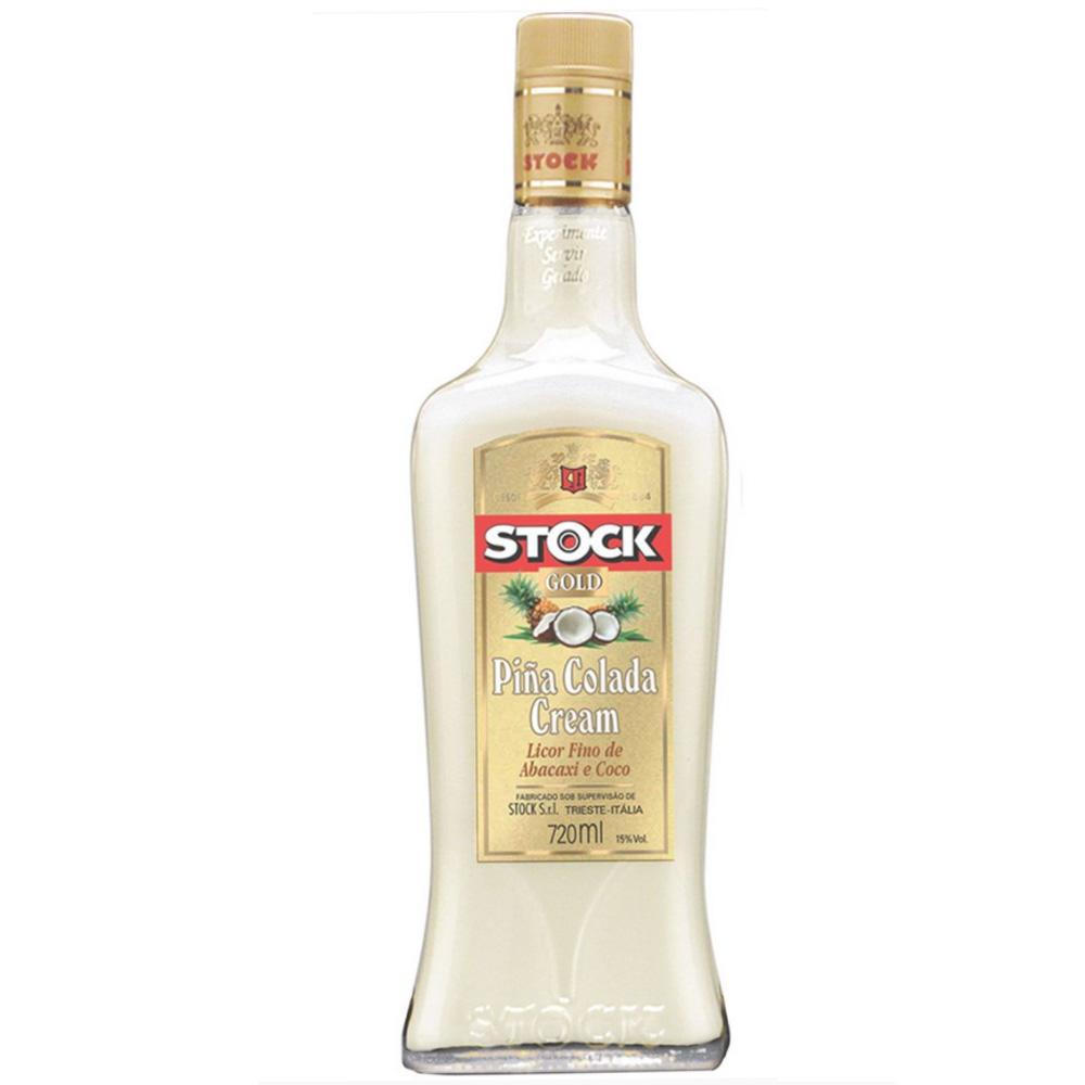Licor Cremoso Stock Piña Colada Cream 720ml Garrafa Vidro