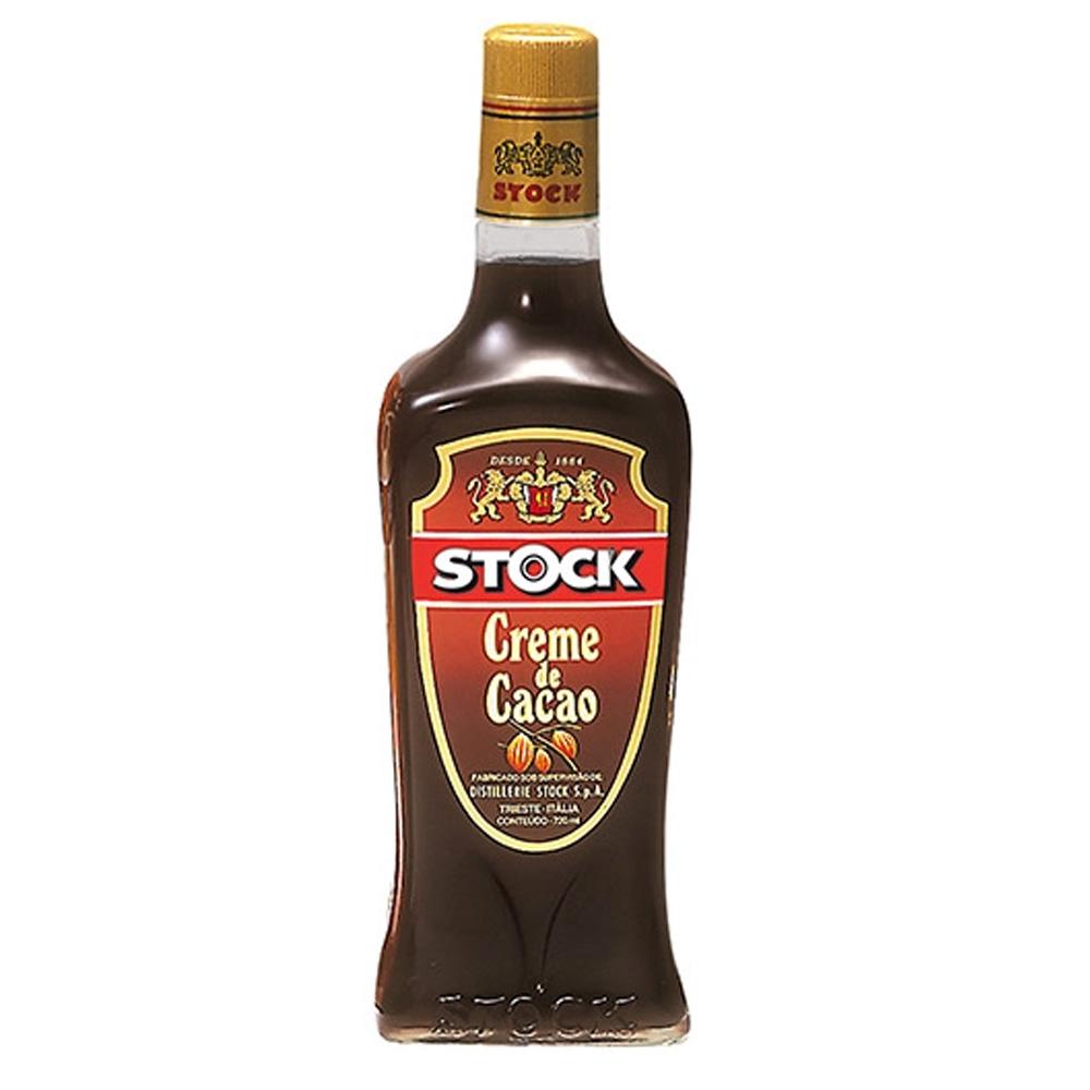 Licor Stock Creme de Cacau 720ml Garrafa Vidro