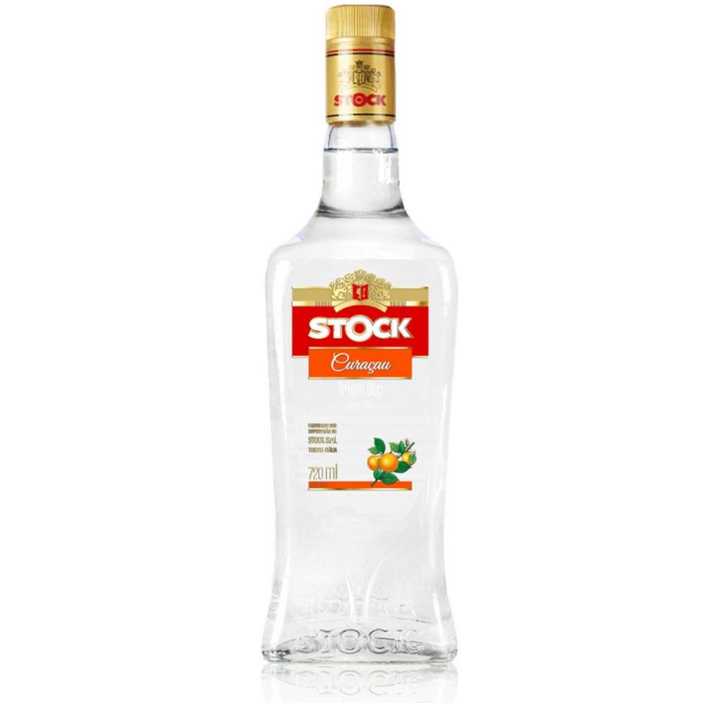Licor Fino Stock Curacau Triple Sec 720ml Garrafa Vidro