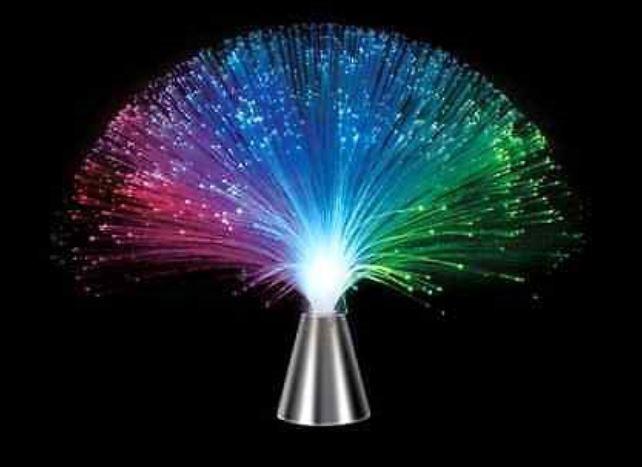 Luminária de fibra ótica