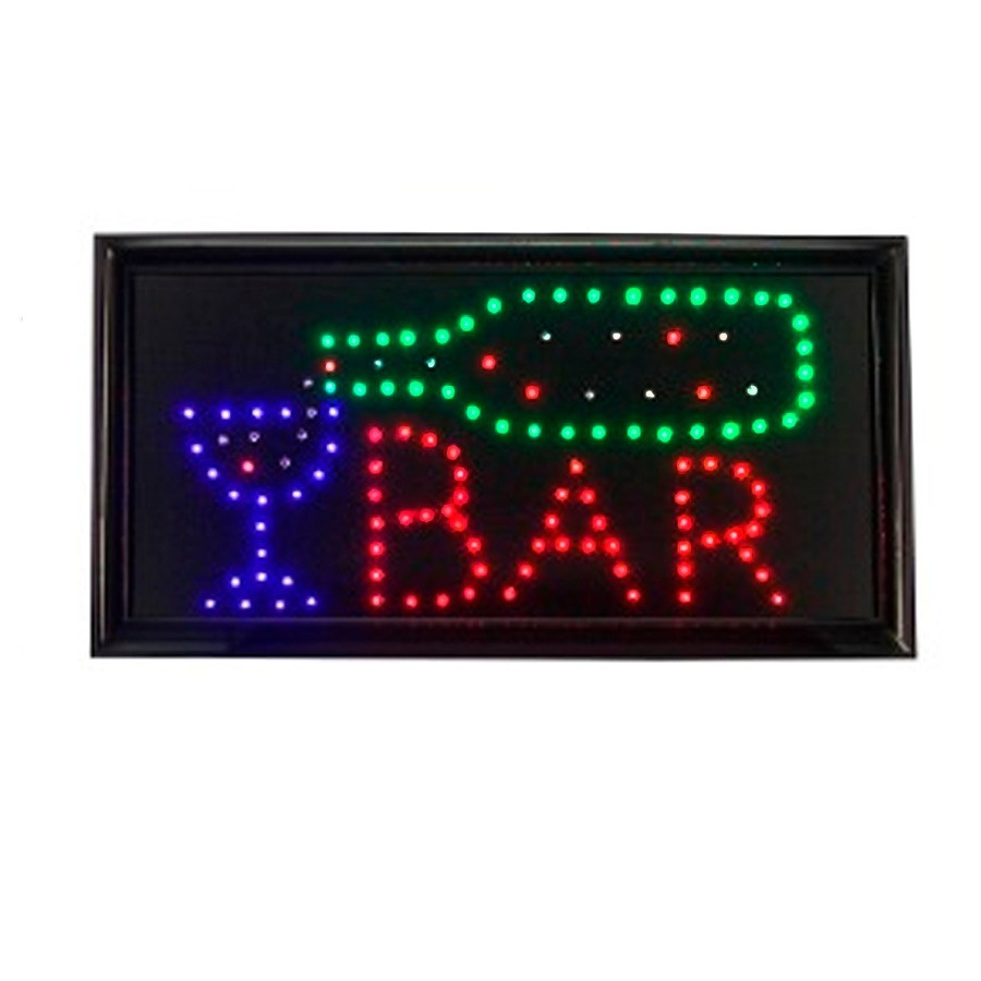 Luminoso Placa de Led BAR - 127Vts