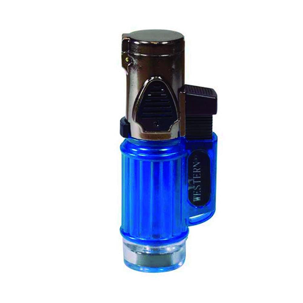 Maçarico Azul Pequeno Recarregável Western