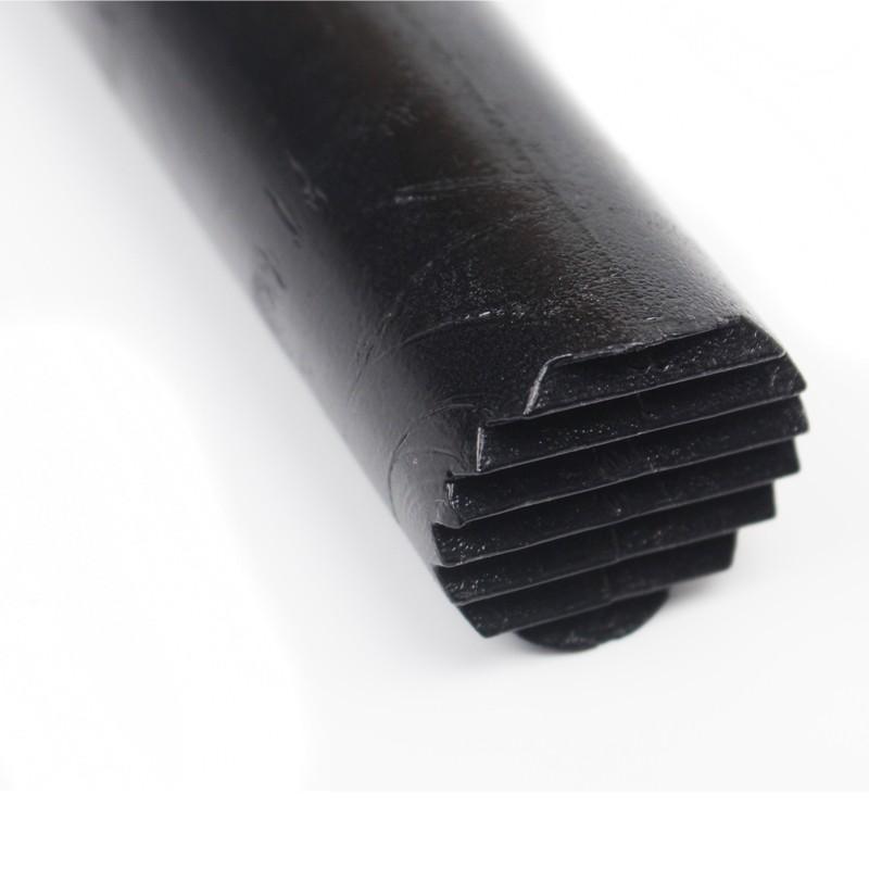 Macerador Dentado Preto 25cm Plástico ABS Socador