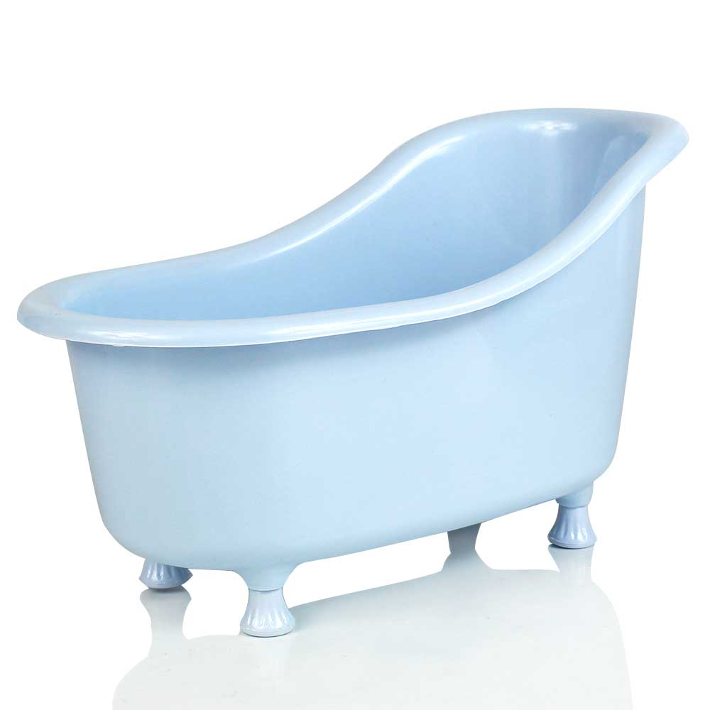 Mini Banheira M Acrílica Azul Claro