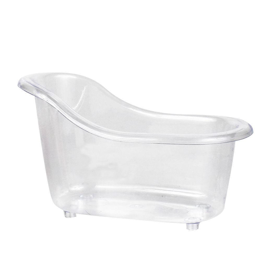 Mini Banheira P Transparente sem Pé