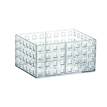 Organizador Empilhável 16cm x 11,5cm x 8cm Quadratta Paramount