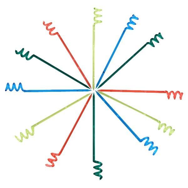 Palito Espiral - Caixa com 1000 unidades sortidas