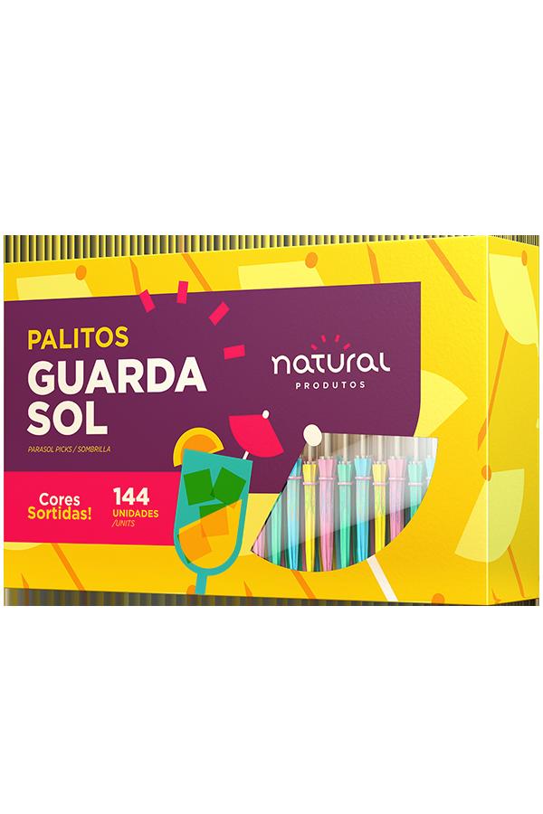 Palito Guarda Sol Caixa com 144 und.