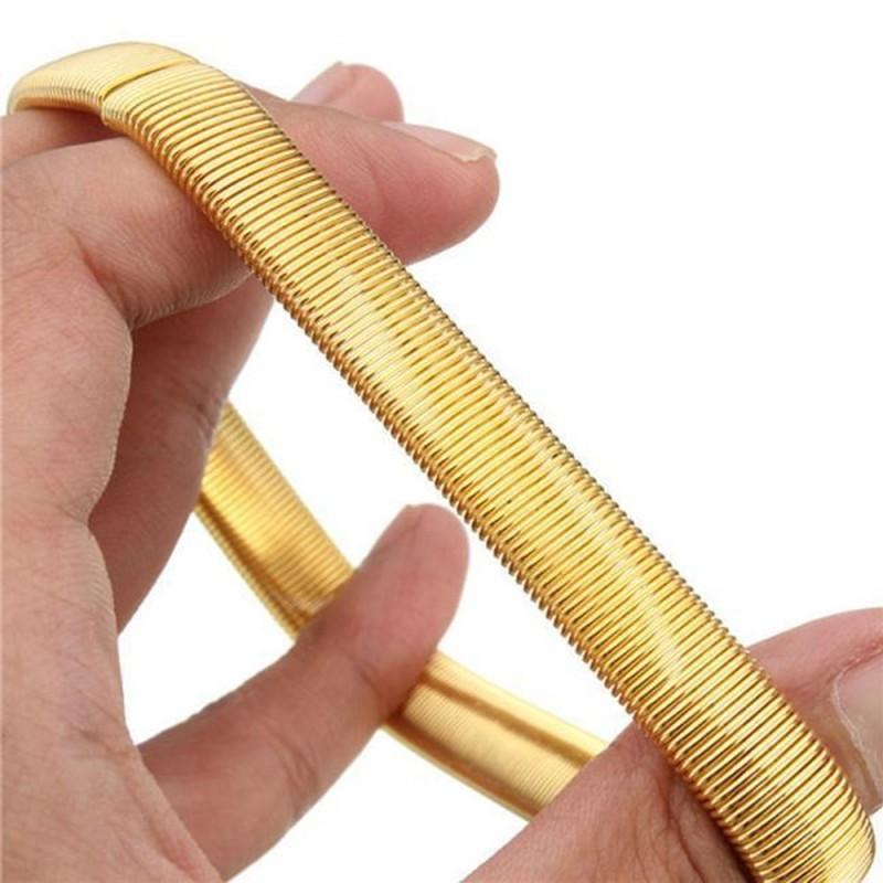Braçadeira Bracelete de Camisa para Bartender  Cor Dourada