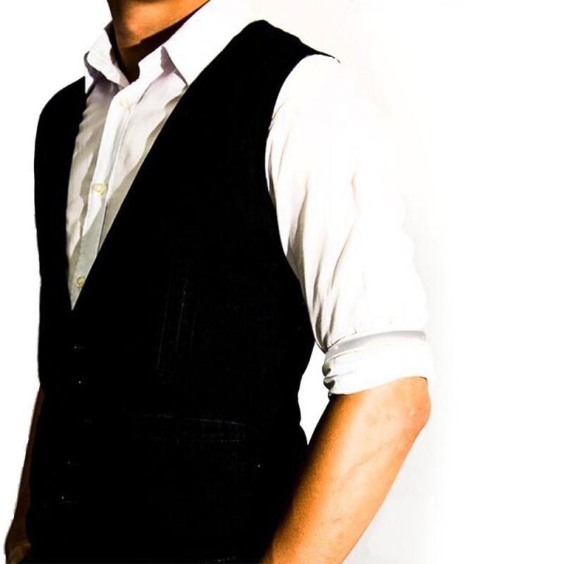 Braçadeira Bracelete de Camisa para Bartender  Cor Prata