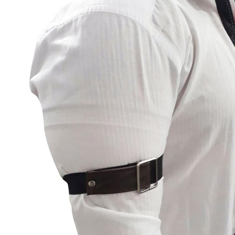 Par de Braçadeira de Camisa para Bartender  em Courvin