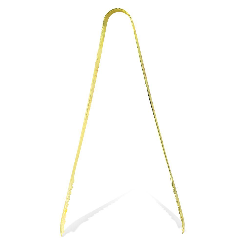 Pegador de Gelo Dourado Jacaré 18cm