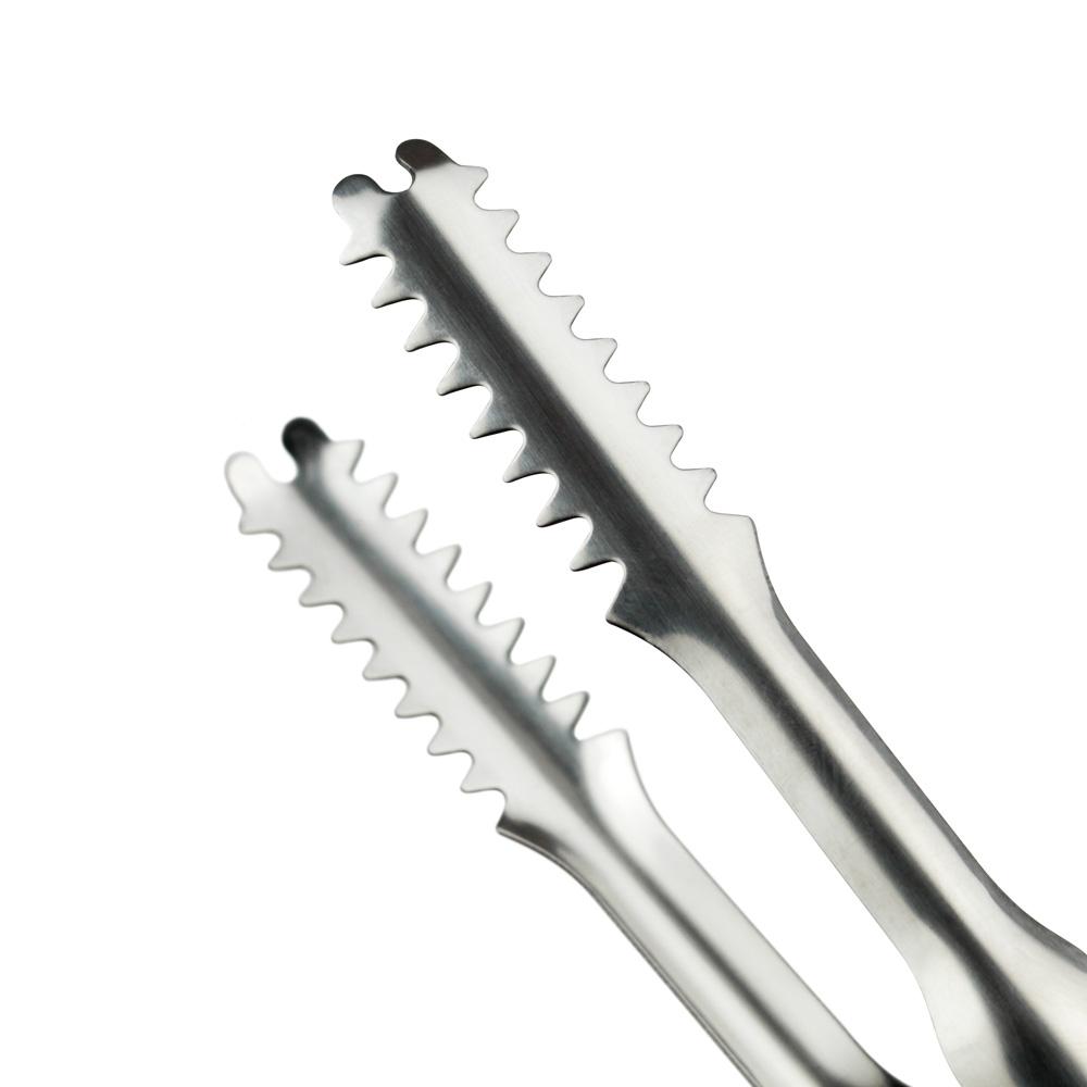 Pegador Longo Tipo Jacaré Multiuso Dentado Inox 20cm XDX