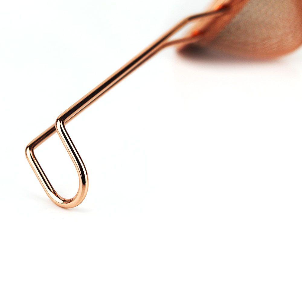 Peneira Cônica de Cobre Pequena 7,5cm Profissional