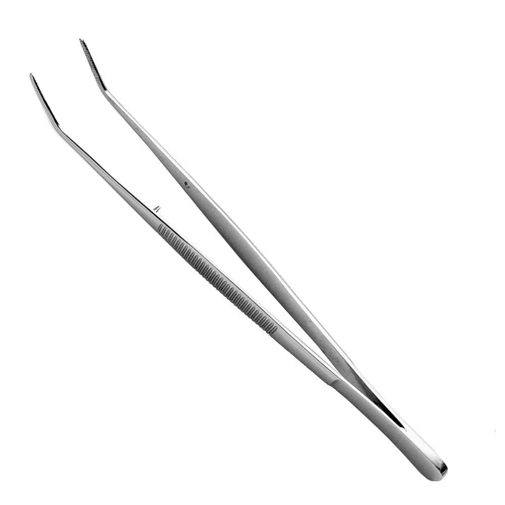 Pinça Anatômica Inox 15,5cm Curva