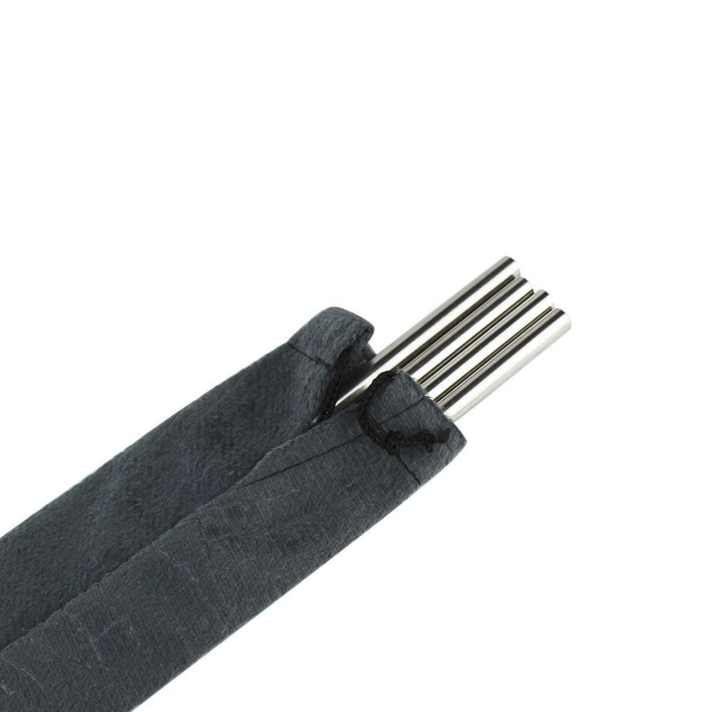 Porta Canudo em Tecido 100% Poliéster 29cm