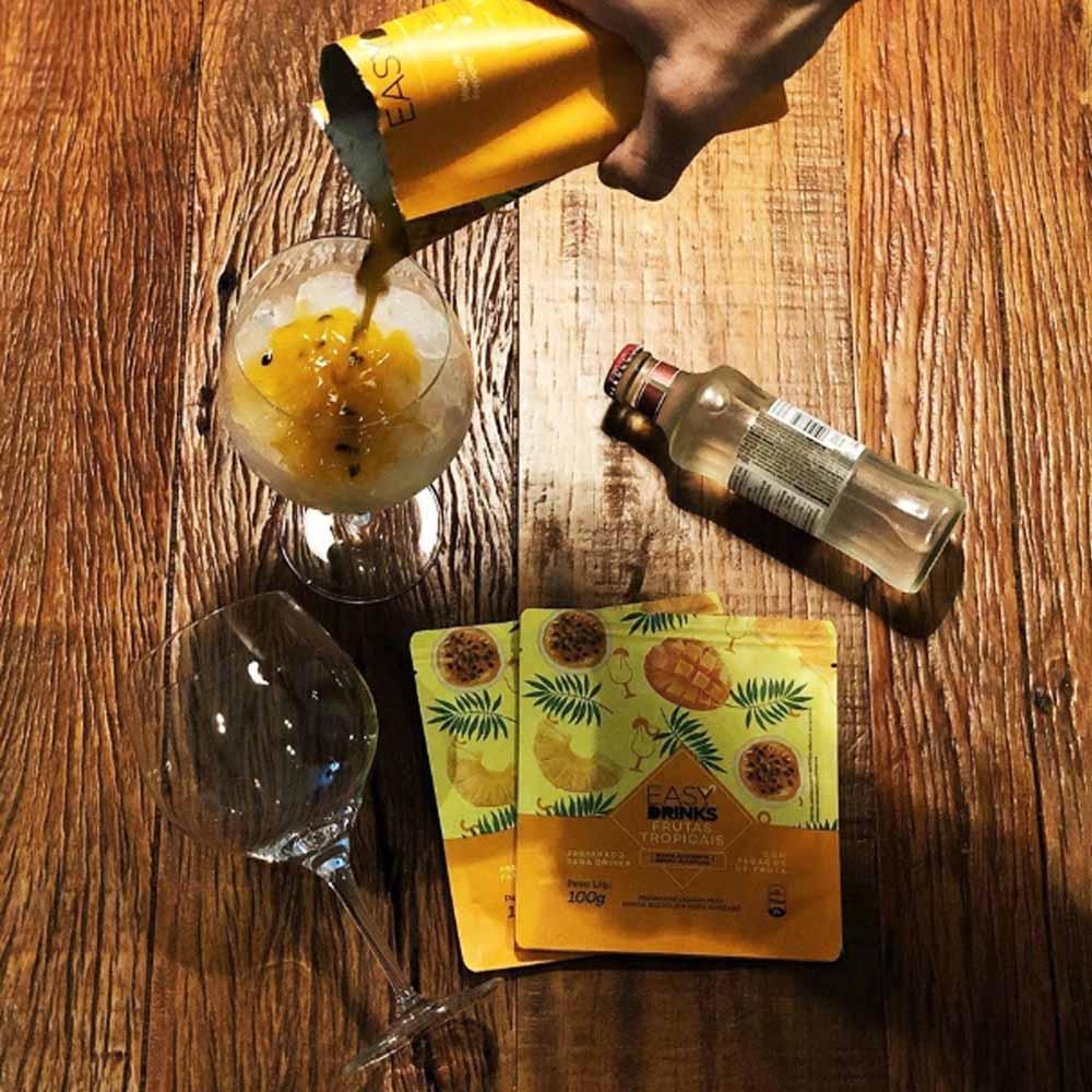 Preparado de Frutas Tropicais Easy Drinks