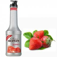 Purê Morango Monin  1 Litro