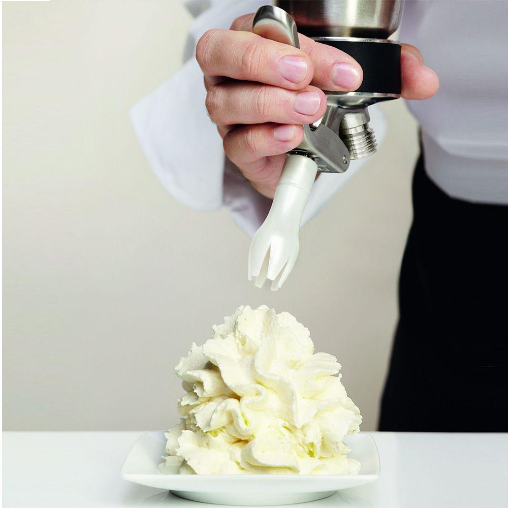 Sifão ISI Chantilly Profissional Cream Profi Whip 1 Litro e 10 Ampolas