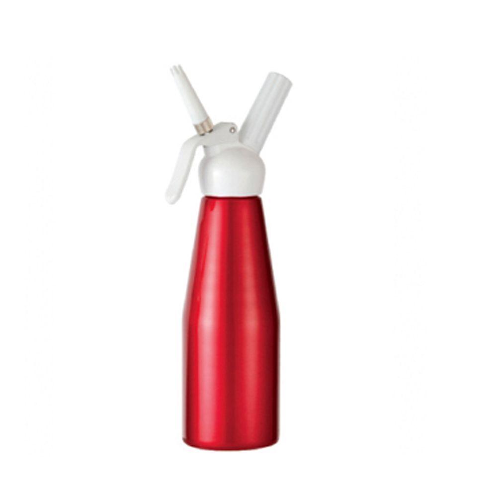 Sifão Vermelho Garrafa de Chantilly 500ml com 10 cápsulas gás BestWhip