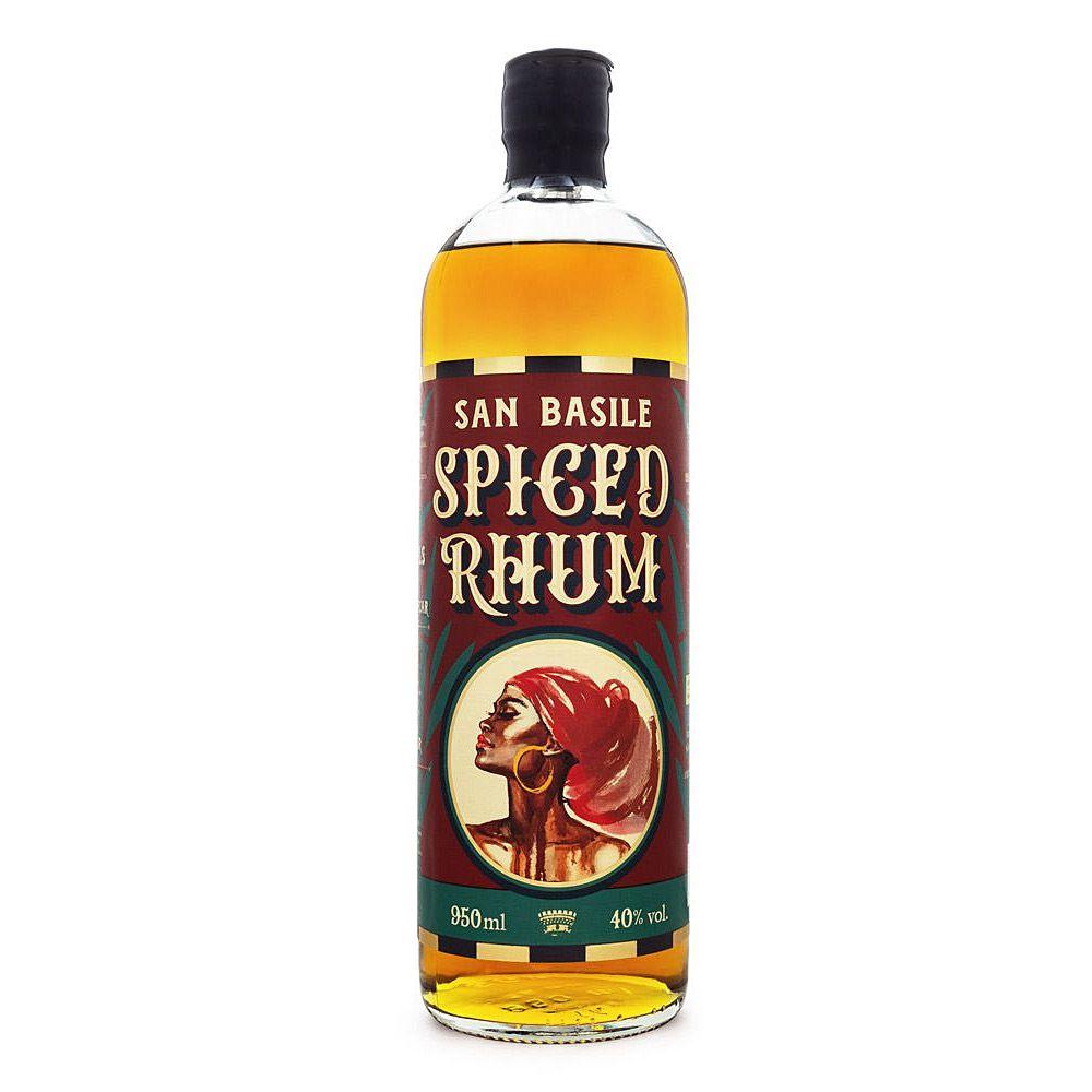 Spiced Rhum San Basile Rum com Ervas Aromáticas 950ml