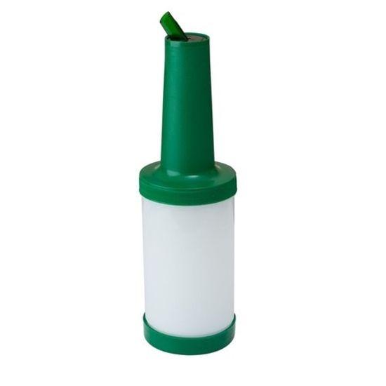 Store and Pour 1 Litro Pescoço Cor Verde
