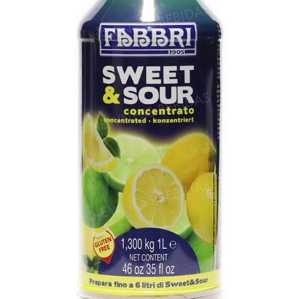 Sweet & Sour Concentrado de Limão 1 Litro Fabbri