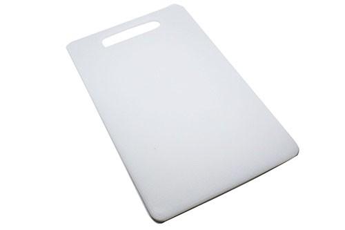 Tábua de Plástico Branca Retangular 20cm x 33cm x 0,5cm