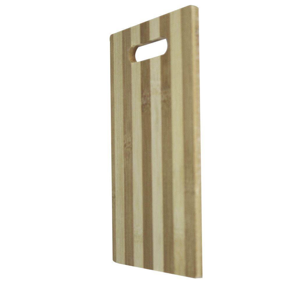 Tábua para Corte com Alça de Bambu Daterra 25,3cm x 15,7cm
