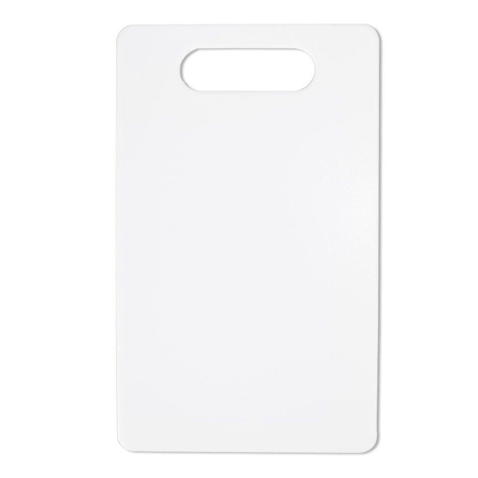 Tábua Pequena  Bar Polietileno Branca 14,5cmx24,5cmx0,5cm
