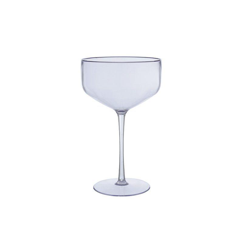 Taça Coupe Transparente Acrílica Poliestireno 200
