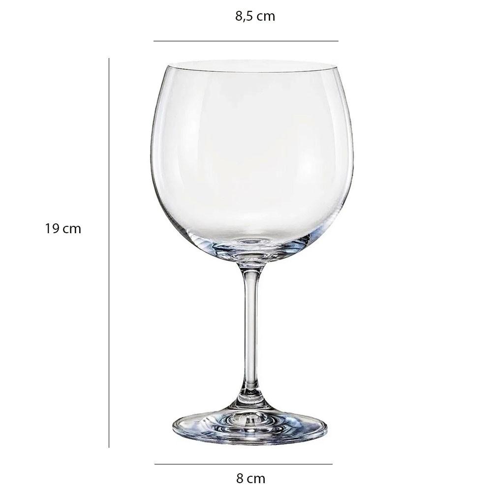 Taça De Gin De Cristal Anna 600 ml Bohemia